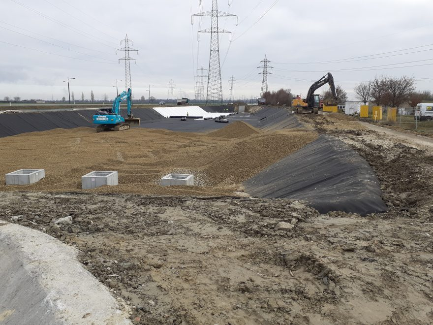 Sanierung Gewässerschutzanlage Rothneusiedl, Baustellenkoordination gem. BauKG