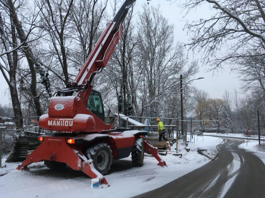 Hochwasserpumpwerk Abwasserreinigungsanlage Korneuburg, Planungs- und Baustellenkoordinator gemäß BauKG