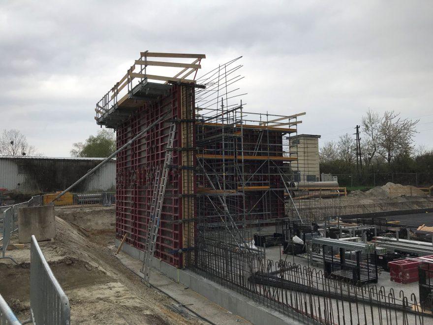 Neubau Kläranlage Gerasdorf, Baustellenkoordination gem. BauKG