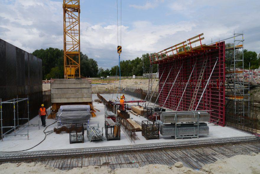 Kläranlage Korneuburg, Baustellenkoordination