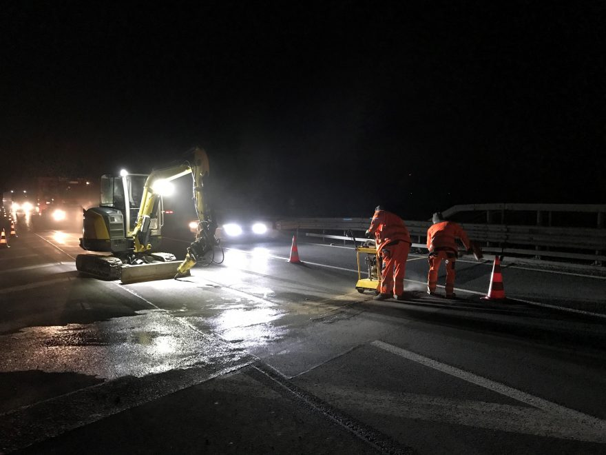A4 Sofortmaßnahme Sanierung Brückenbauwerke, Baustellenkoordination gem. BauKG